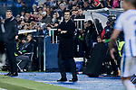 Real Madrid's coach Santiago Solari during  between Real Madrid and CD Leganes at Butarque Stadium in Madrid, Spain. January 16, 2019. (ALTERPHOTOS/A. Perez Meca)