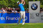 Francesco Molinari tees off on the 12th hole during Round 2 of the BMW PGA Championship at  Wentworth, Surrey, England...Photo Golffile/Eoin Clarke.(Photo credit should read Eoin Clarke www.golffile.ie)....This Picture has been sent you under the condtions enclosed by:.Newsfile Ltd..The Studio,.Millmount Abbey,.Drogheda,.Co Meath..Ireland..Tel: +353(0)41-9871240.Fax: +353(0)41-9871260.GSM: +353(0)86-2500958.email: pictures@newsfile.ie.www.newsfile.ie.