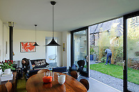 It was a combination of good luck and hard graft that enabled Rachel Green and Andrew Fletcher to bring their very own piece of Scandinavian Modernism to the heart of West Edinburgh. They combine design ideas taken from rural Danish coastal dwellings and an urban British-Victorian aesthetic with the latest in eco technology.