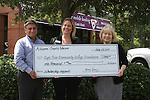 2015 Alliance Credit Union Check Presentation