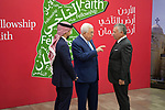 Palestinian President Mahmoud Abbas meets with Jordanian King Abdullah II and Jordanian Crown Prince Hussein, in Amman, Jordan on December 18, 2018. Photo by Thaer Ganaim