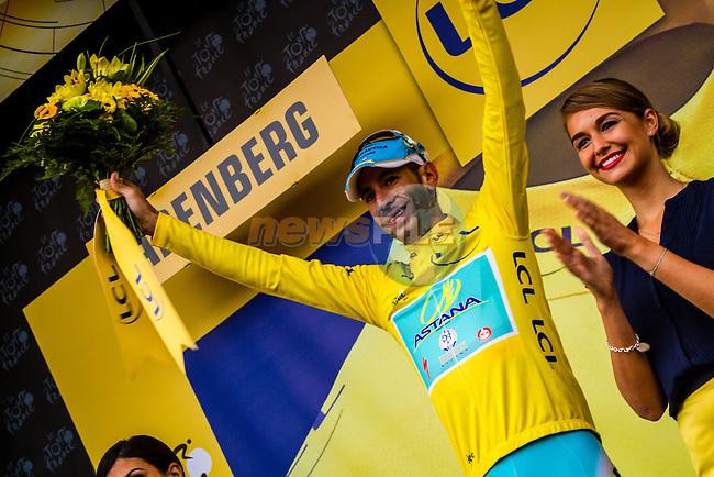 Vincenzo Nibali, Astana, Tour de France, Stage 5: Ypres > Arenberg Porte du Hainaut, UCI WorldTour, 2.UWT, Wallers, France, 9th July 2014, Photo by Thomas van Bracht / Peloton Photos