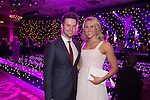 Tom Haffield and Gemma Lowe at the gala dinner.<br /> The Celebrity Cup 2015<br /> Celtic Manor Resort<br /> <br /> 04.07.15<br /> &copy;Steve Pope - SPORTINGWALES