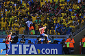 Alexis Sanchez (CHI), JUNE 28, 2014 - Football / Soccer : Alexis celebrates after his goal during the FIFA World Cup Brazil 2014 round of 16 match between Brazil and Chile at the Mineirao Stadium in Belo Horizonte, Brazil. (Photo by AFLO)