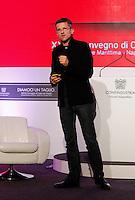 NAPOLI XXVIII CONVEGNO GIOVANI INDUSTRIALI<br /> NELLA FOTO CARLO RATTI <br /> MASSACHUSETTS INSTITUTE OF TECHNOLOGY<br /> FOTO CIRO DE LUCA