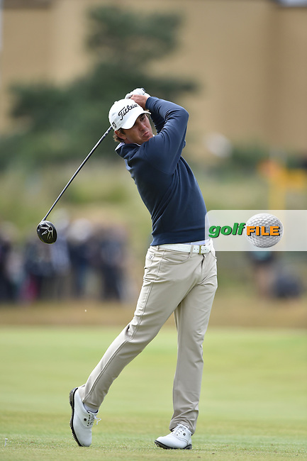 Brooks KOEPKA (USA)  during the 3rd round on Sunday of the 144th Open Championship, St Andrews Old Course, St Andrews, Fife, Scotland. 19/07/2015.<br /> Picture: Golffile | Fran Caffrey<br /> <br /> <br /> All photo usage must carry mandatory copyright credit (&copy; Golffile | Fran Caffrey)