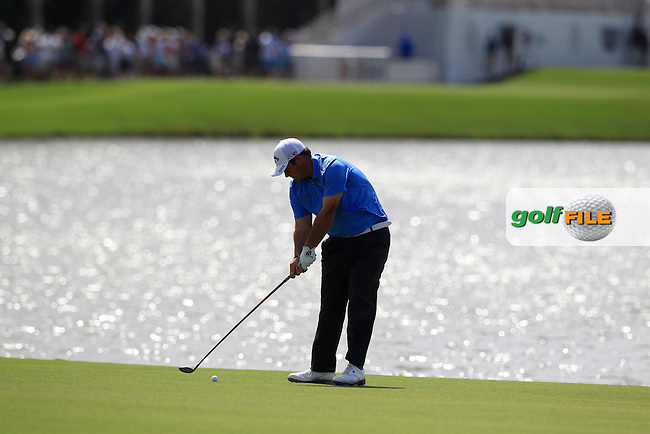 Patrick Reed (USA) during the 1st round at the WGC Cadillac Championship, Blue Monster, Trump National Doral, Doral, Florida, USA<br /> Picture: Fran Caffrey / Golffile
