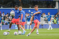 Huddersfield Town's Jonathan Hogg during the pre-match warm-up <br /> <br /> Luke Brennan/CameraSport<br /> <br /> The EFL Sky Bet Championship - Queens Park Rangers v Huddersfield Town - Saturday 10th August 2019 - Loftus Road - London<br /> <br /> World Copyright © 2019 CameraSport. All rights reserved. 43 Linden Ave. Countesthorpe. Leicester. England. LE8 5PG - Tel: +44 (0) 116 277 4147 - admin@camerasport.com - www.camerasport.com