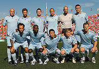 12 September 2009:The Colorado Rapids starting eleven during MLS action at BMO Field Toronto in a game between Colorado Rapids and Toronto FC. .Toronto FC won 3-2..