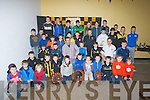 MEDALS: On Sunday at Abbeydorney Complex the juvenilles of Abbeydorney hurling Club were presented with the Board na nÓg Juvenile medals.