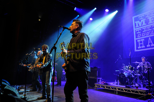 LONDON, ENGLAND - APRIL 15: Stefan Cush of 'The Men They Couldn't Hang' performing at Shepherd's Bush Empire on April 15, 2017 in London, England.<br /> CAP/MAR<br /> &copy;MAR/Capital Pictures
