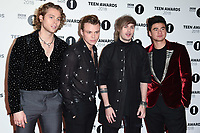 5 Seconds of Summer<br /> arriving for the Radio 1 Teen Awards 2018 at Wembley Stadium, London<br /> <br /> ©Ash Knotek  D3454  21/10/2018