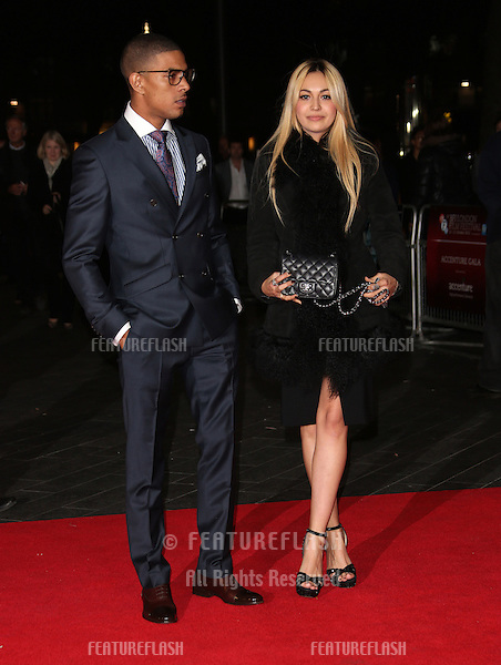 Fazar and Zara Martin at the 56th BFI London Film Festival: Argo - Accenture gala, held at the Odeon Leicester Square. 17/10/2012 Picture by: Henry Harris / Featureflash