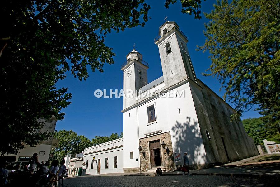 Igreja na cidade de Colônia do Sacramento. Uruguai. 2009. Foto de Caetano Barreira.