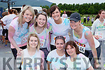 Listowel girls on the run at the Killarney Colour Run in Killarney Racecourse on Saturday front Sharon o'Connor, Emma Houlihan, Teresa Keane. Back row: Jackie O'Connor, Pamela Brosnan, Mary O'connor, Stephanie Keane-Stack