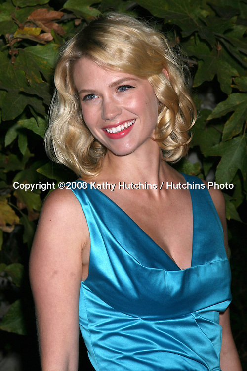 January Jones  arriving at the Oceana Annual Gala at a private home in Pacific Palisades, CA on.October 18, 2008.©2008 Kathy Hutchins / Hutchins Photo...                .