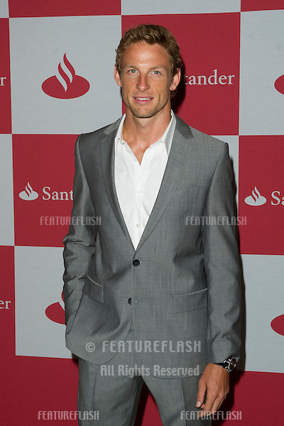 Jenson Button arriving for The Grand Prix London F1 Party, RAC Club London. 28/06/2012 Picture by: Simon Burchell / Featureflash
