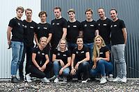 SCHAATSSPORT: GRONINGEN: 11-06-2018, Team IKO, v.l.n.r. (voor) Letitia de Jong, Bo van der Werff, Jorien ter Mors, Jutta Leerdam,<br /> (achter) Joep Baks, Niek Deelstra, Joost Born, Lennart Velema, Daan Baks, Martijn van Oosten, coaches Erwin en Martin ten Hove, &copy;foto Martin de Jong