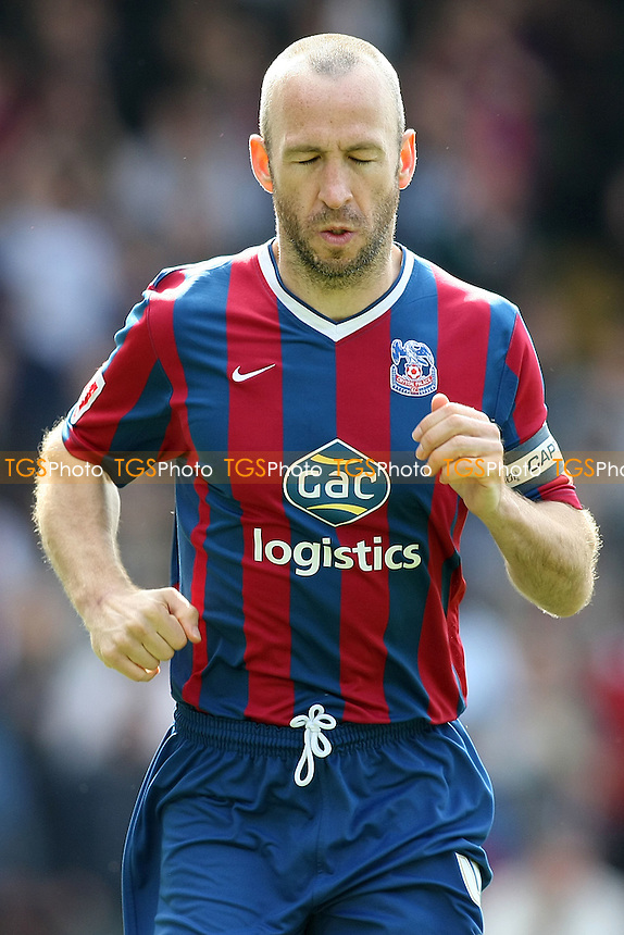 Shaun Derry of Crystal Palace - Crystal Palace vs Queens Park Rangers - Coca Cola Championship Football at Selhurst Park - 10/04/10 - MANDATORY CREDIT: George Phillipou/TGSPHOTO - Self billing applies where appropriate - 0845 094 6026 - contact@tgsphoto.co.uk - NO UNPAID USE..