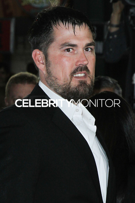 "HOLLYWOOD, CA - NOVEMBER 12: Marcus Luttrell at the AFI FEST 2013 - ""Lone Survivor"" Premiere held at TCL Chinese Theatre on November 12, 2013 in Hollywood, California. (Photo by David Acosta/Celebrity Monitor)"