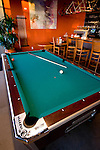 Pool table at Hop Works, Portland, Oregon