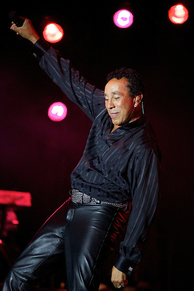 Smokey Robinson at Elton John's White Tie and Tiara Ball