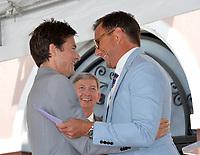 Jason Bateman, Leron Gubler, Will Arnett  at the Hollywood Walk of Fame Star Ceremony honoring actor Jason Bateman. Los Angeles, USA 26 July 2017<br /> Picture: Paul Smith/Featureflash/SilverHub 0208 004 5359 sales@silverhubmedia.com