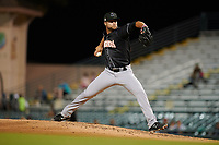 Jupiter Hammerheads relief pitcher Vincenzo Aiello (26) during a Florida State League game against the Bradenton Marauders on April 20, 2019 at LECOM Park in Bradenton, Florida.  Bradenton defeated Jupiter 3-2.  (Mike Janes/Four Seam Images)