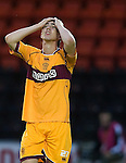 Dejection from Motherwell's Ross Forbes.