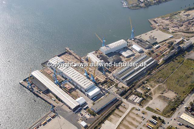 Deutschland, Schleswig- Holstein, Luebeck, Werft