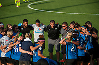 Kansas City, MO - Saturday June 17, 2017: FC Kansas City, Vlatko Andonovski during a regular season National Women's Soccer League (NWSL) match between FC Kansas City and the Seattle Reign FC at Children's Mercy Victory Field.