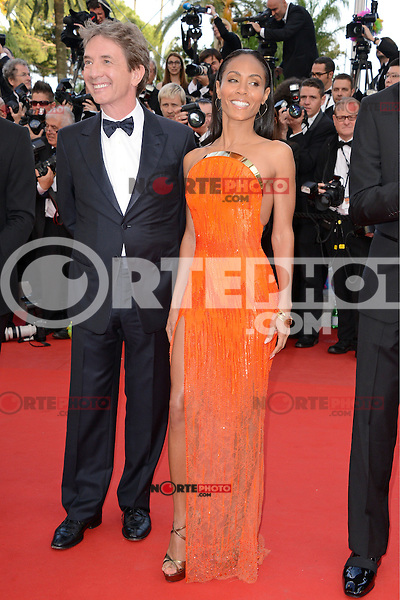 """Martin Short and Jada Pinkett Smith attending the """"Madagascar III"""" Premiere during the 65th annual International Cannes Film Festival in Cannes, France, 18.05.2012..Credit: Timm/face to face/MediaPunch Inc. ***FOR USA ONLY***"""