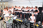 Oh Happy Day Ladies Choir performing on the outdoor stage at the K-Fest last Saturday.