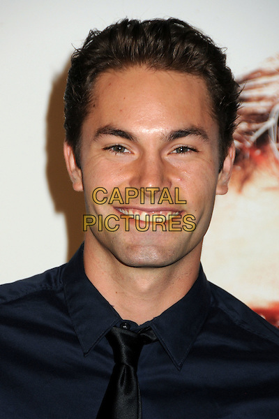 "ZACH SILVA .""The Next Three Days"" Los Angeles Screening held at the Directors Guild of America, West Hollywood, California, USA, 16th November 2010..portrait headshot black smiling tie blue navy shirt .CAP/ADM/BP.©Byron Purvis/AdMedia/Capital Pictures."