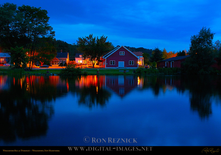 Wolfeboro Bay at Twilight, Wolfeboro, New Hampshire