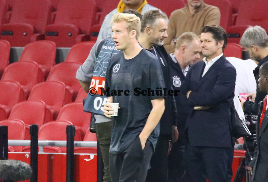 Julian Brandt (Deutschland Germany) - 13.10.2018: Niederlande vs. Deutschland, 3. Spieltag UEFA Nations League, Johann Cruijff Arena Amsterdam, DISCLAIMER: DFB regulations prohibit any use of photographs as image sequences and/or quasi-video.