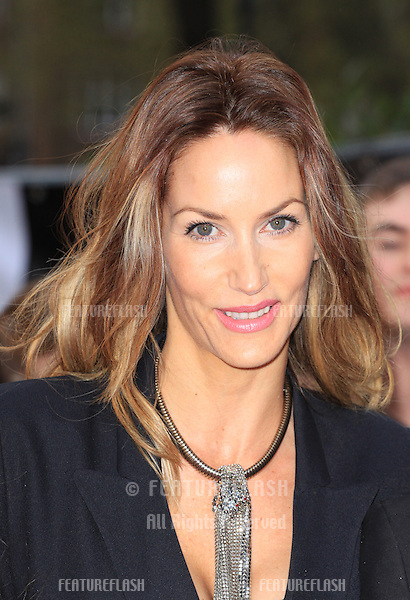 Lisa Butcher arriving for 'The Lucky One' European Premiere, Bluebird, Chelsea, London. 23/04/2012 Picture by: Henry Harris / Featureflash