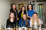 Caitríona Fitzmaurice, Tarbert, celebrates her 18th birthday with friends at Bella Bia's on Saturday Pictured  Front l-r Aisling O'Carrol, Caitríona Fitzmaurice, Niamh Torley Back l-r Amy O'Brien, Ciara Mahoney and Mairéad Spaight