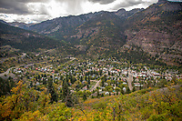 Originally established by miners chasing silver and gold in the surrounding mountains, the town at one time boasted more horses and mules than people. At the height of the mining, Ouray had more than 30 active mines. In 1986, Bill Fries, a.k.a. C. W. McCall, was elected mayor, ultimately serving for six years. The entirety of Main Street is registered as a National Historic District with most of the buildings dating back to the late nineteenth century.