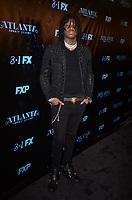 "ATLANTA, GA - FEBRUARY 26: Saaheem Valdery attends a screening of FX's ""Atlanta, Robbin' Season"" at Starlight Six Drive In on February 26, 2018 in Atlanta, Georgia.(Photo by Tonya Wise/FX/PictureGroup)"