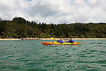 New Zealand, South Island: Kayaking from Kaiteriteri along the Abel Tasman National Park coast. Photo copyright Lee Foster. Photo # newzealand125028