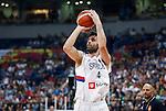 Kosarka FIBA Olympic Basketball Qualifying Tournament<br /> Srbija v Puerto Rico<br /> Milos Teodosic and head coach Aleksandar Djordjevic (R)<br /> Beograd, 04.07.2016.<br /> foto: Srdjan Stevanovic/Starsportphoto&copy;