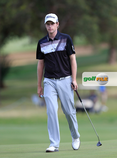 Kevin Phelan (IRL) on the 10th during Round 3 of the ISPS HANDA Perth International at the Lake Karrinyup Country Club on Saturday 25th October 2014.<br /> Picture:  Thos Caffrey / www.golffile.ie