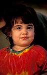 Israel, young girl in Herzliya