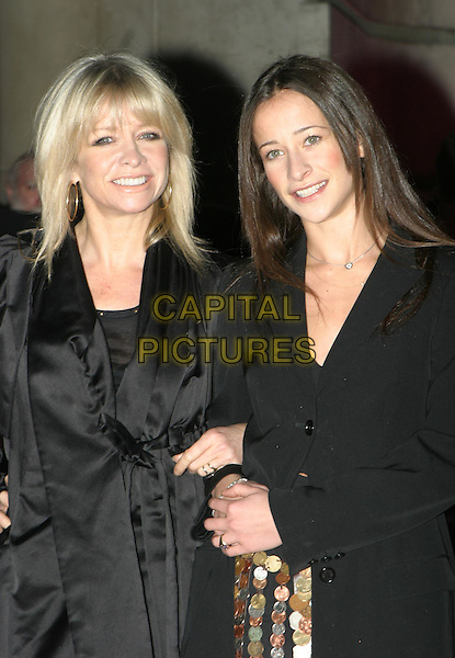 JO WOOD & LEAH WOOD.Private view to open the V&A's major Westwood exhibition.30 March 2004.half length, half-length, mum, mother, daughter.www.capitalpictures.com.sales@capitalpictures.com.© Capital Pictures.