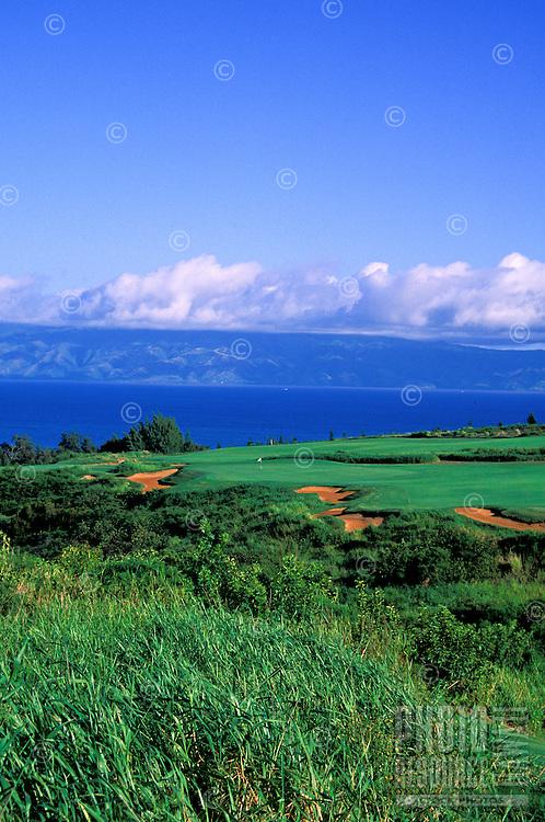 Kapalua Plantation, No. 18, Kapalua, Maui.  Architect: Crenshaw and Coore