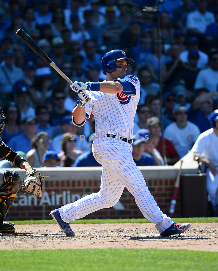 Chicago Cubs Miguel Montero (47) during a game against the Pittsburgh Pirates on June 17, 2016 at Wrigley Field in Chicago, IL. The Cubs beat the Pirates 6-0.