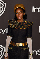 LOS ANGELES, CALIFORNIA - JANUARY 06: Janelle Mon&aacute;e attends the Warner InStyle Golden Globes After Party at the Beverly Hilton Hotel on January 06, 2019 in Beverly Hills, California. <br /> CAP/MPI/IS<br /> &copy;IS/MPI/Capital Pictures