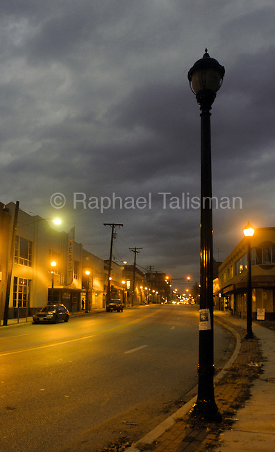 The Gazette Decorative street lights on Baltimore Avenue have been consistently not working making walking on the sidewalk a hazard at night.