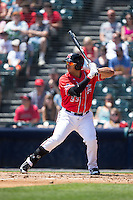 Ricky Oropesa (33) of the Richmond Flying Squirrels at bat against the Bowie Baysox at The Diamond on May 25, 2015 in Richmond, Virginia.  The Flying Squirrels defeated the Baysox 6-1. (Brian Westerholt/Four Seam Images)